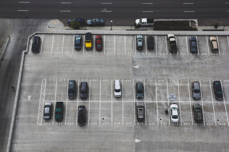 Transport Planning Consultancy London -image of car park half fell