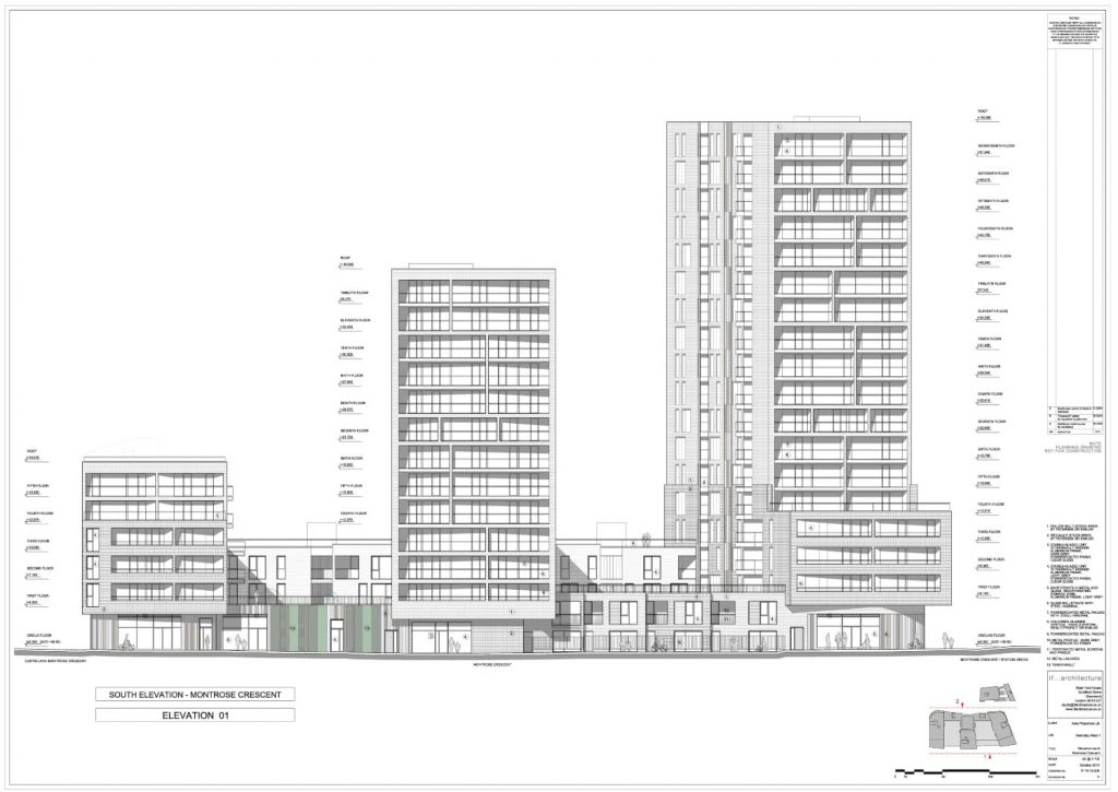 Transport Planning Consultancy London -image of all building sketched